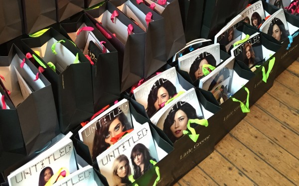 Untitled Magazine Gift Bags - Edeline Lee fashion show - London ss16
