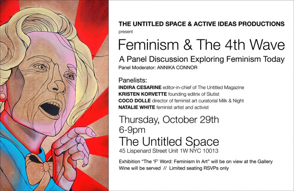 Feminism + The 4th Wave - Panel Discussion Invite 7