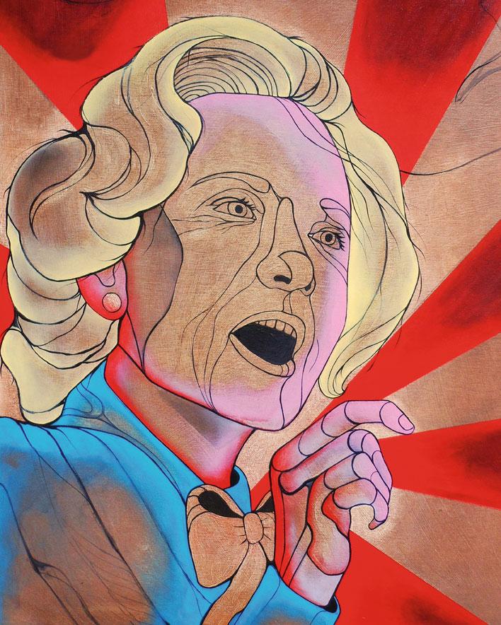 Hillary-Clinton-by-Jennifer-Caviola-aka-Cake
