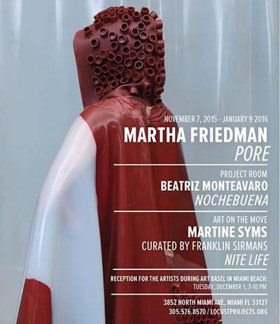 Locust Projects Celebrates Martha Friedman