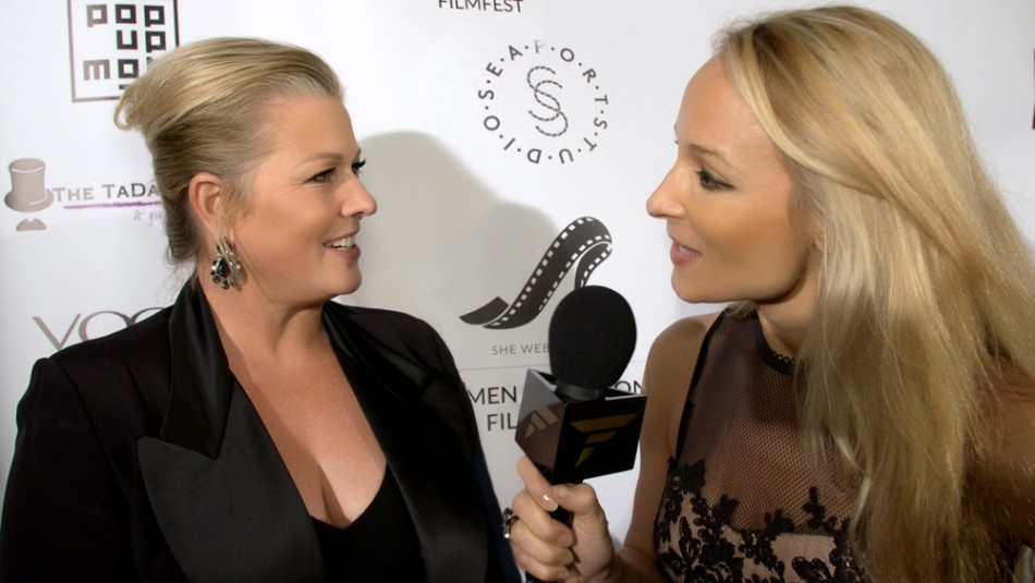 Indira Cesarine interviews Emme at Women & Fashion FilmFest 2015 NYC