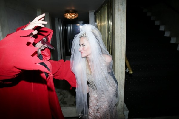 Stacy Engman as the Bride of Terence Koh archetype meets The Devil